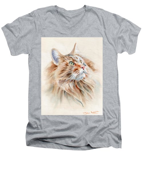 Bird Watching Men's V-Neck T-Shirt