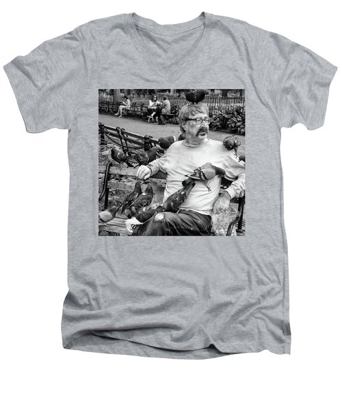 Birdman Of Wsp Men's V-Neck T-Shirt