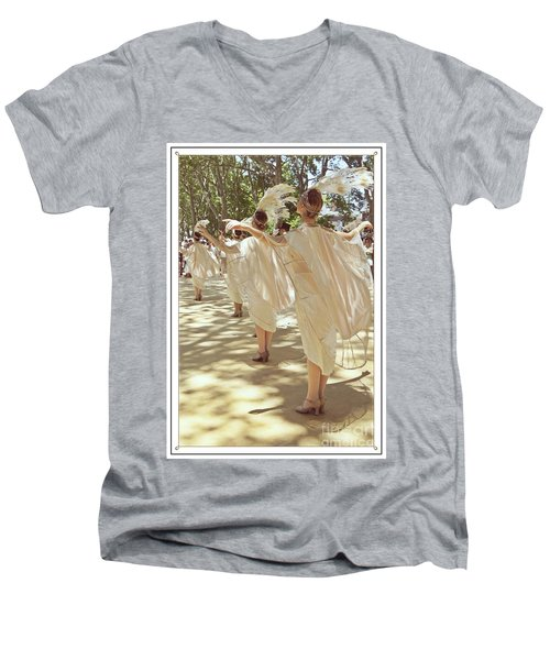 Birds Of A Feather Follies Men's V-Neck T-Shirt