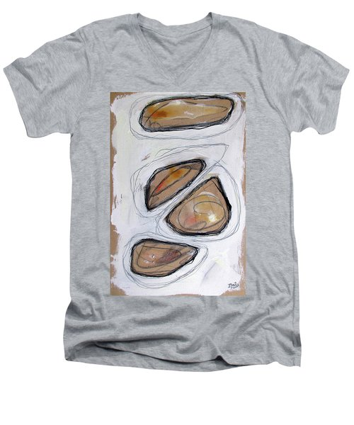 Birth Of Logic Men's V-Neck T-Shirt