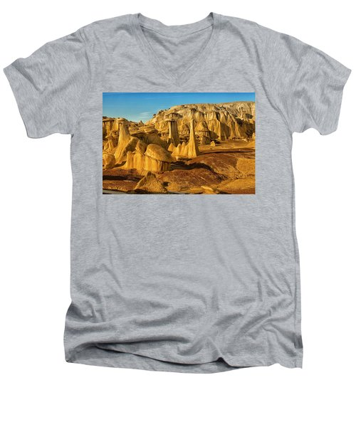 Bisti Badlands Fantasy Men's V-Neck T-Shirt