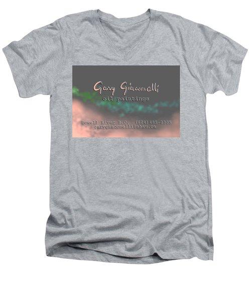 Biz Card Men's V-Neck T-Shirt