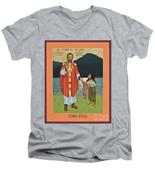 Bl. Stanley Rother - Lwsro Men's V-Neck T-Shirt