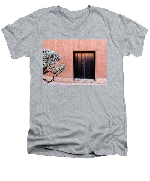 Black Door Men's V-Neck T-Shirt