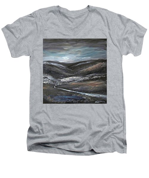 Black Hills Men's V-Neck T-Shirt