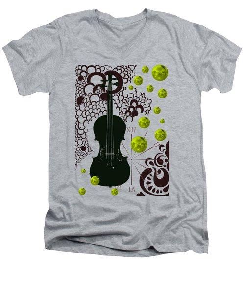 Black Violin Men's V-Neck T-Shirt