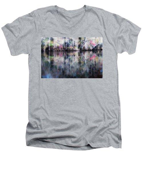 Black Water Fantasy Men's V-Neck T-Shirt