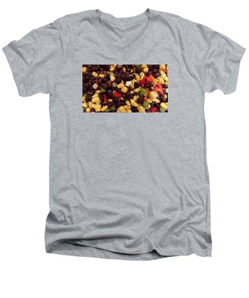 Blackbean Salad Men's V-Neck T-Shirt