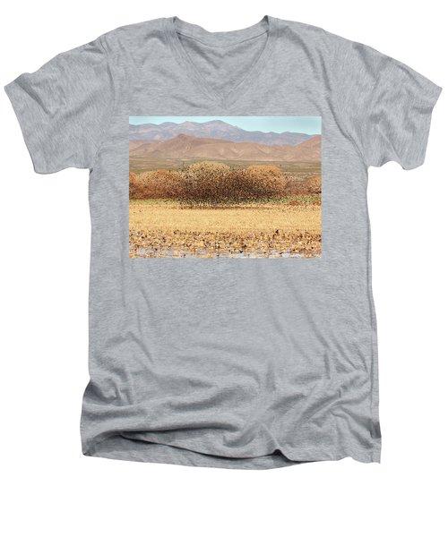 Blackbird Cloud Men's V-Neck T-Shirt