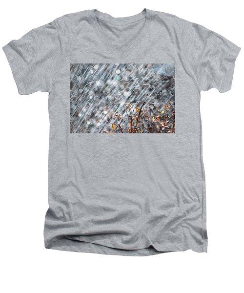 Blame It On The Rain Men's V-Neck T-Shirt