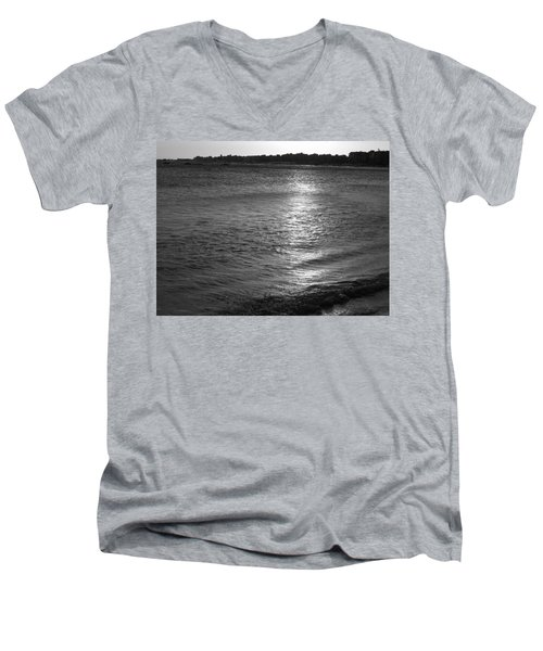 Men's V-Neck T-Shirt featuring the photograph Blanket by Beto Machado