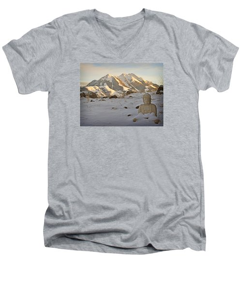 Blanket Of Peace Men's V-Neck T-Shirt