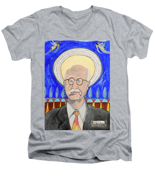 Blavais Men's V-Neck T-Shirt