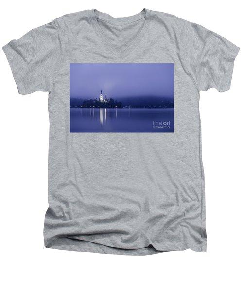 Bled Slovenia Men's V-Neck T-Shirt