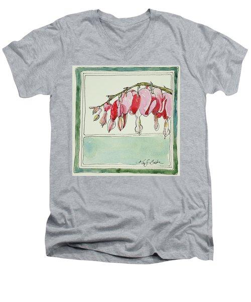 Bleeding Hearts II Men's V-Neck T-Shirt