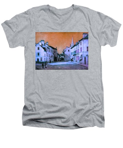 Blend 15 Sisley Men's V-Neck T-Shirt by David Bridburg