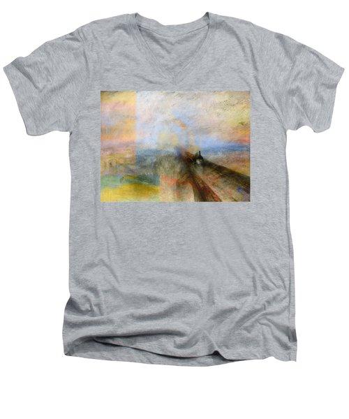 Blend 5 Turner Men's V-Neck T-Shirt