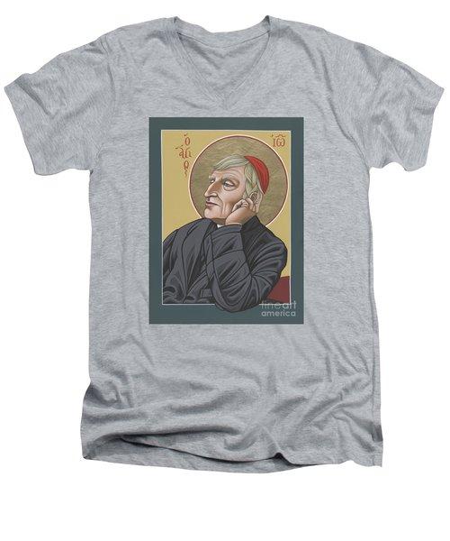 Blessed Cardinal John Henry Newman 221 Men's V-Neck T-Shirt