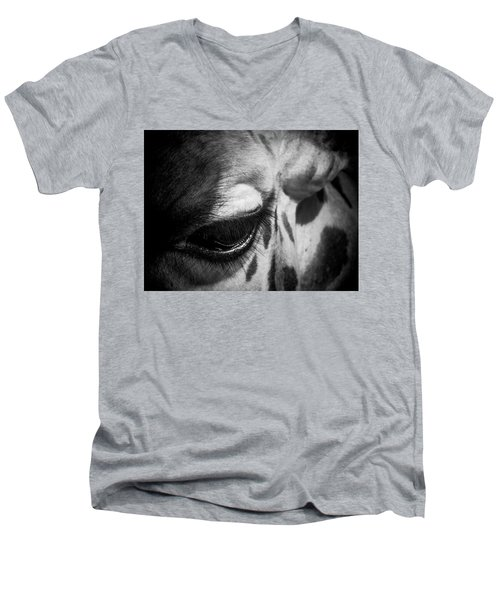 Blink Of An Eye Men's V-Neck T-Shirt