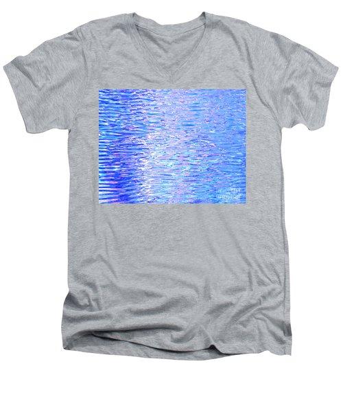 Blissful Blue Ocean Men's V-Neck T-Shirt
