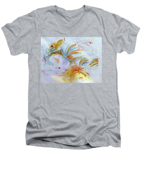 Blithe Sirit Men's V-Neck T-Shirt