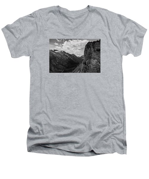 Blodgett Canyon Men's V-Neck T-Shirt