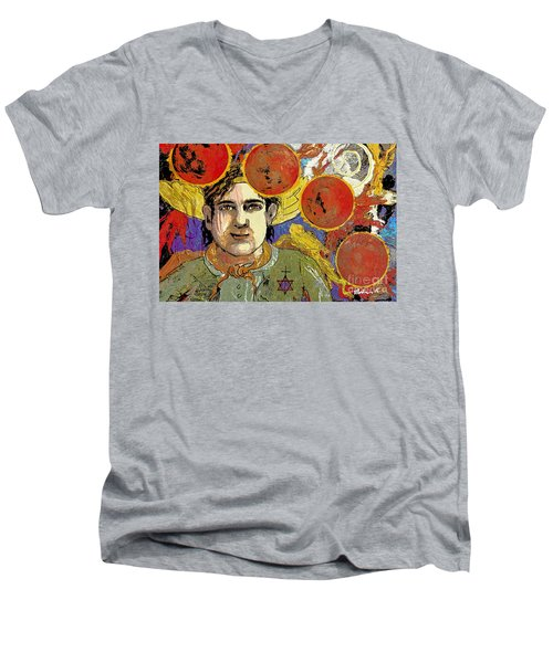 Blood Moon Tetrad Men's V-Neck T-Shirt