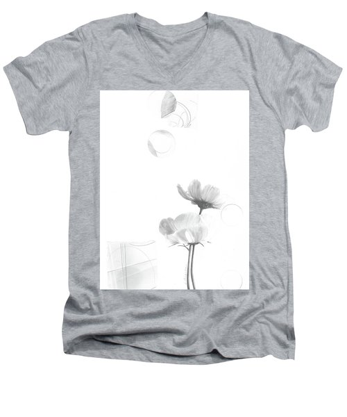 Bloom No. 1 Men's V-Neck T-Shirt