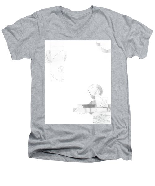 Bloom No. 3 Men's V-Neck T-Shirt