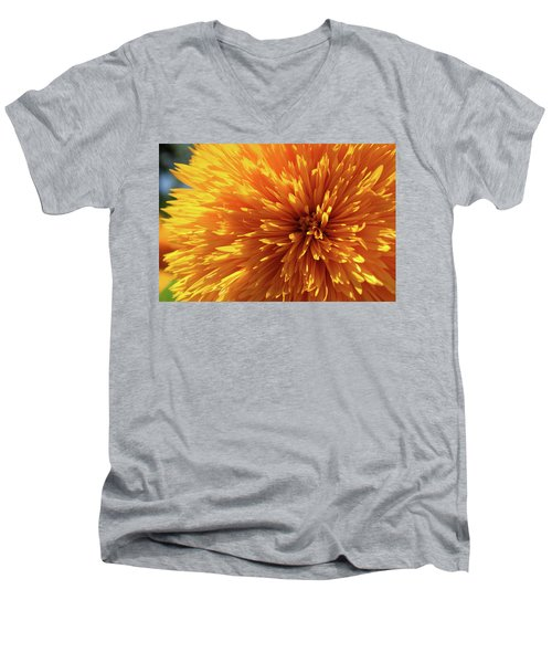 Blooming Sunshine Men's V-Neck T-Shirt