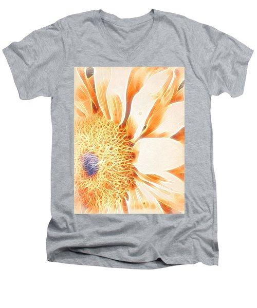 Bloomlit Men's V-Neck T-Shirt