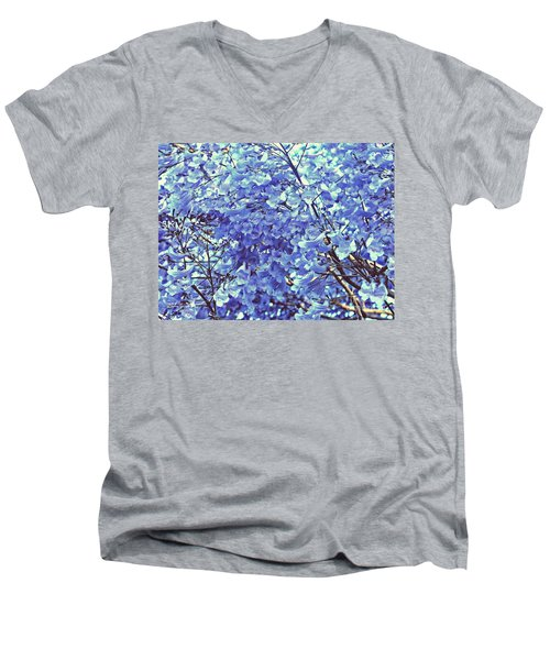 Blossom Bliss Men's V-Neck T-Shirt