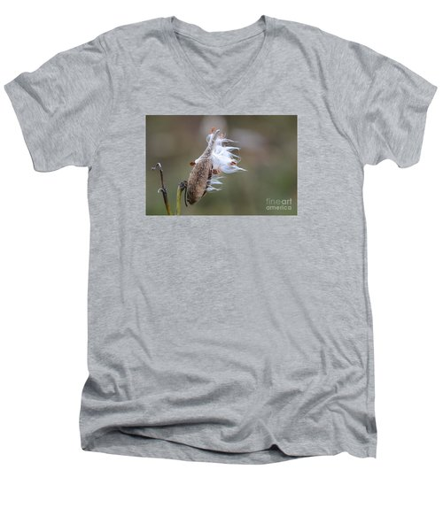 Blowing In The Wind Men's V-Neck T-Shirt by Cindy Manero