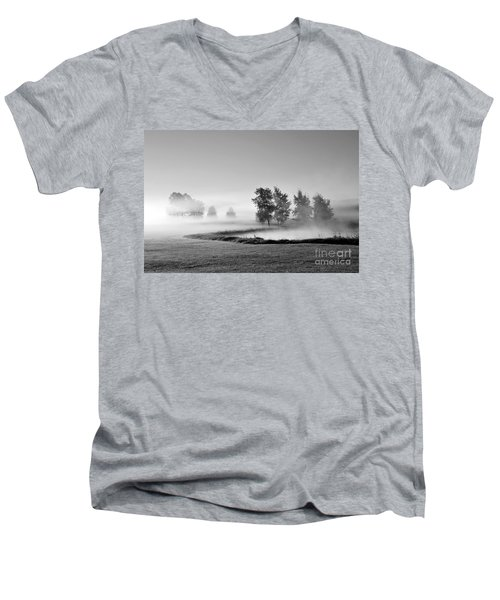 Men's V-Neck T-Shirt featuring the photograph Blown Away by Terri Gostola