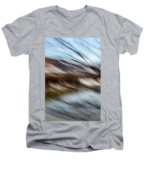 Blown By The Wind Men's V-Neck T-Shirt