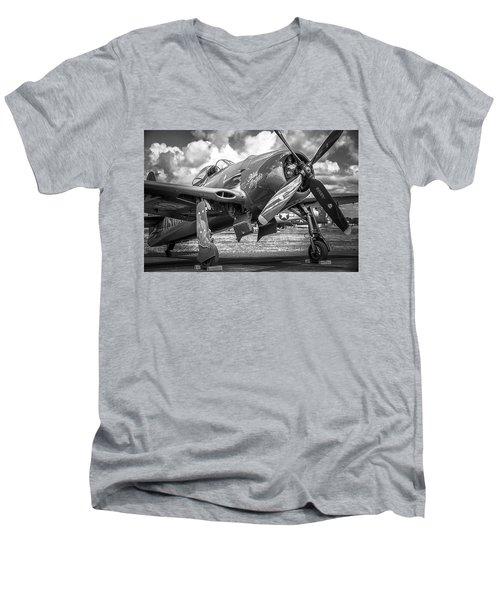 Blue Angels - Bearcat Men's V-Neck T-Shirt