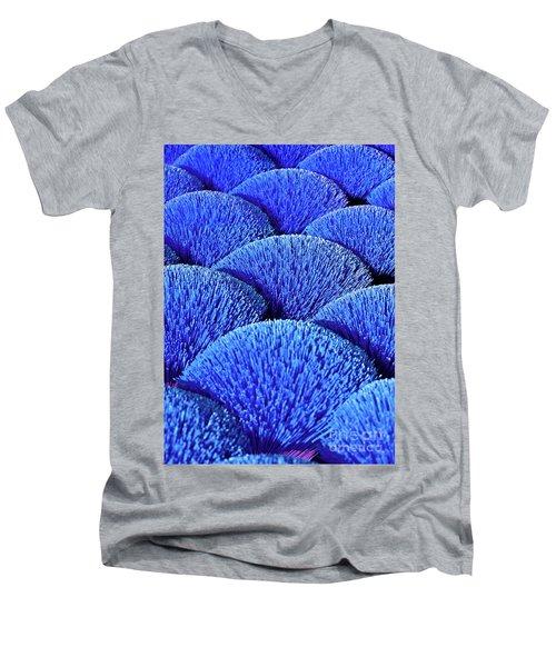 Blue Asia Sound Men's V-Neck T-Shirt