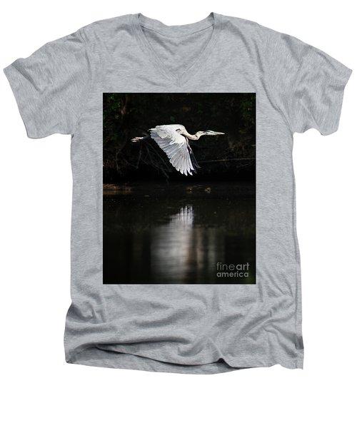 Blue Ballet Men's V-Neck T-Shirt