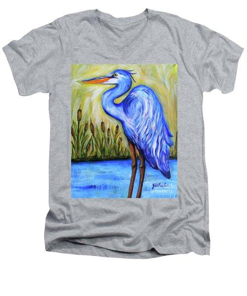 Blue Bayou Men's V-Neck T-Shirt