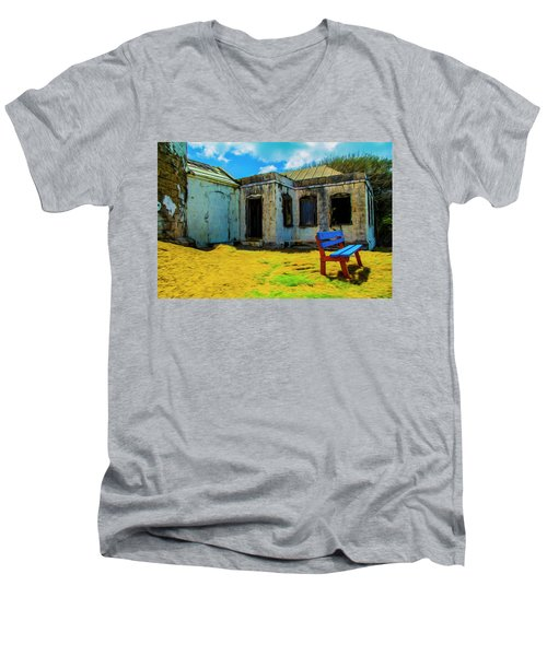 Blue Bench Men's V-Neck T-Shirt