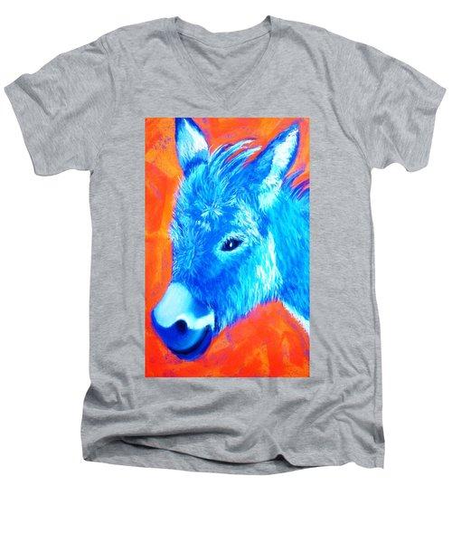 Blue Burrito Men's V-Neck T-Shirt
