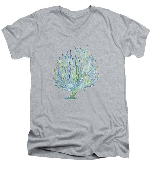 Blue Coral Men's V-Neck T-Shirt