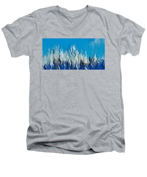 Blue Mist Men's V-Neck T-Shirt