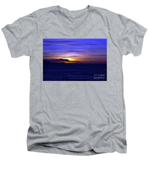 Blue Heaven  Men's V-Neck T-Shirt by Baggieoldboy