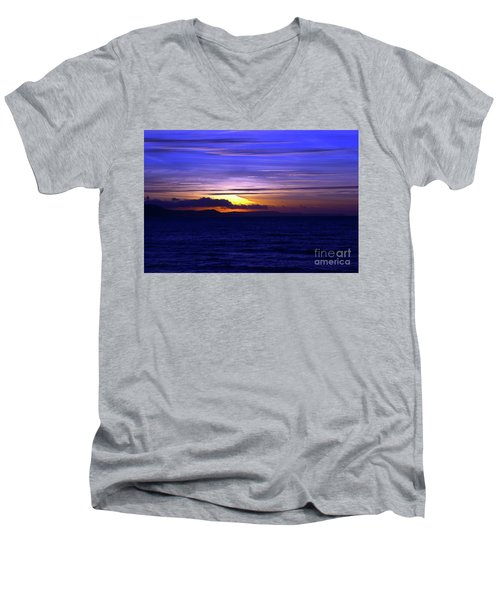 Blue Heaven  Men's V-Neck T-Shirt