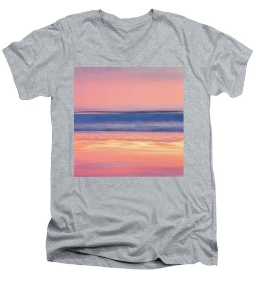 Apricot Delight Men's V-Neck T-Shirt