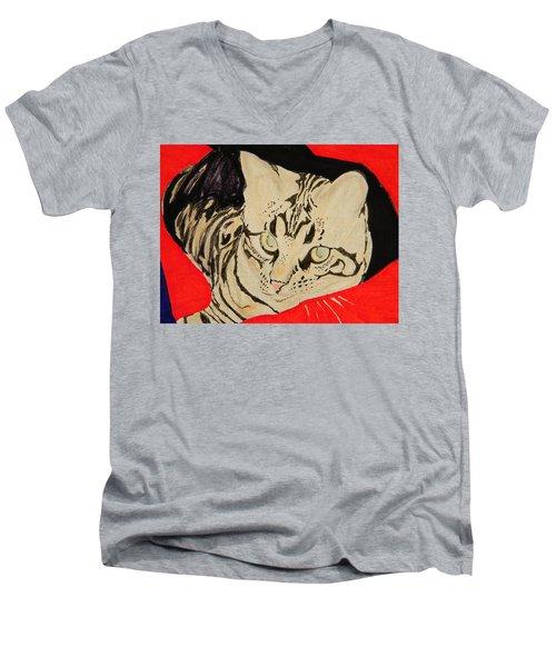 Blue II Men's V-Neck T-Shirt
