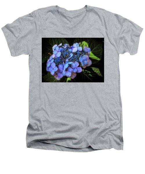 Blue In Nature Men's V-Neck T-Shirt