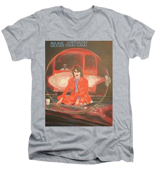 Blue Jay Way Men's V-Neck T-Shirt