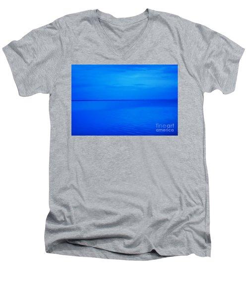 Blue Ocean Twilight Men's V-Neck T-Shirt